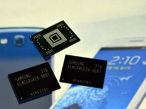 Samsung eMMC Pro Class 1500: Schnellleser mit 140 MB pro Sekunde