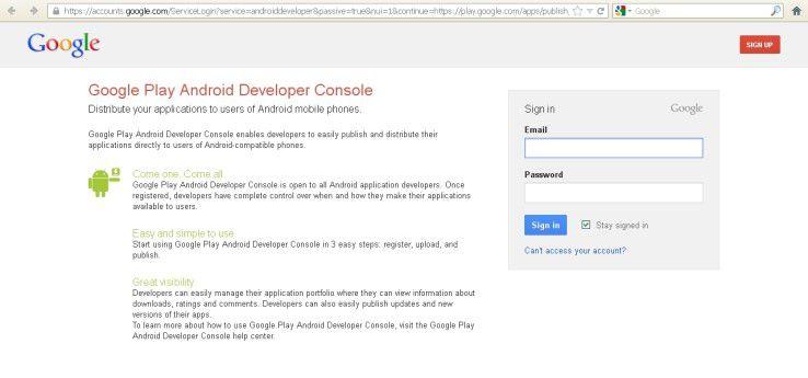 Die Identität eines App-Entwicklers kann bei Google Play über die Zugangsdaten für das Google-Konto geprüft werden.