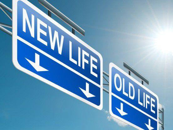 Wer sein Leben verändern will, sollte genau prüfen, wohin die Reise gehen soll.