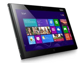 Ein Lenovo ThinkPad Tablet 2 mit Windows 8