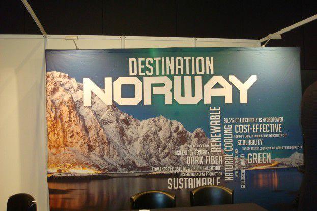 Norwegen punktet als RZ-Standort mit kühler Luft und reichlich erneuerbarer Wasserenergie.