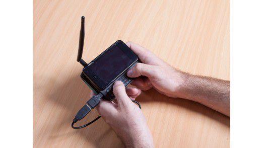 """Wer das Nokia N900 ein wenig """"tunt"""", kann viel Unsinn damit anstellen..."""