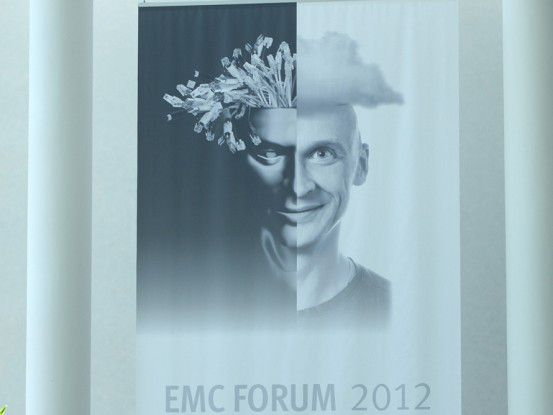 "Am 4. September fand in Frankfurt am Main das 11. EMC Forum unter dem Motto ""Transform IT + Business + Yourself"" statt."