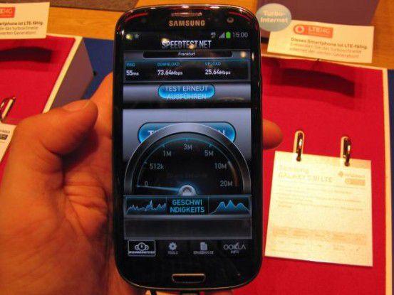 Samsung Galaxy S3 LTE live auf der IFA 2012