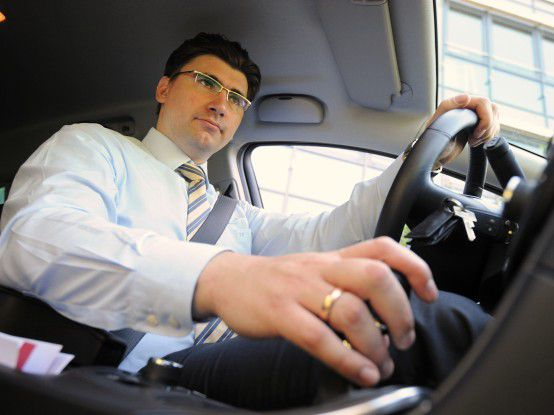 Autofahren ist Teil seines Jobs: Itelligence-Berater Tobias Kuhnt.