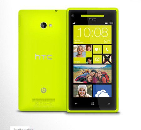 HTCs neues Windows Phone HTC 8X
