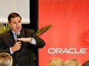 Oracle-President Mark Hurd verspricht Kunden einen kompletten Stack für die Cloud.