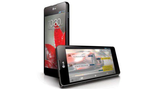 LG Optimus G: In Deutschland noch nicht erhältliches Topmodell.