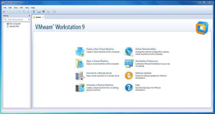 Die neueste Version von VMware Workstation.