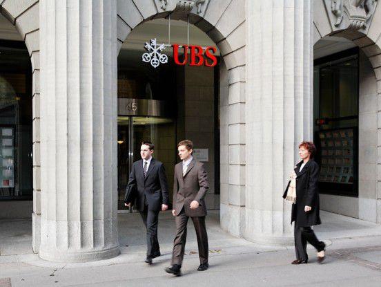 UBS-Zentrale in Zürich.