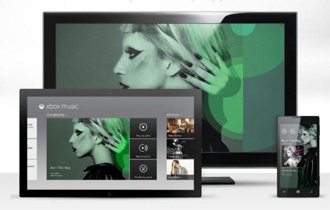 Microsoft will Xbox Music auf allen Plattformen anbieten.