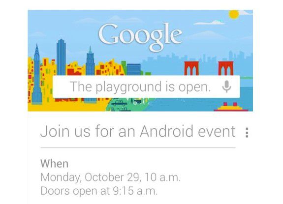 Google lädt ein...