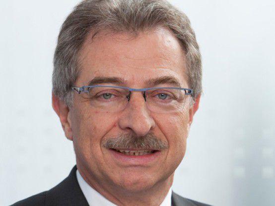 Freut sich über solides Marktwachstum: Bitkom-Präseident Dieter Kempf.