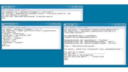 Visual Basic Script, kurz VBS, eröffnet dem Anwender den Zugriff auf COM-Objekte und erweitert die Fähigkeiten von Batch-Jobs deutlich.