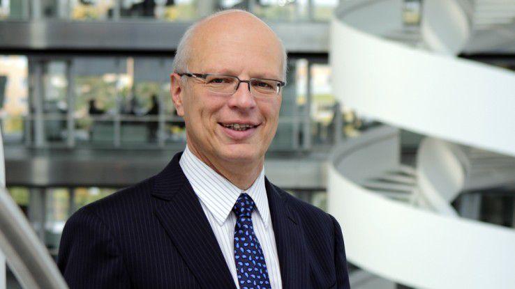 """Thomas Noth heißt der Gewinner des """"CIO des Jahres 2012"""" in der Kategorie """"Großunternehmen""""."""