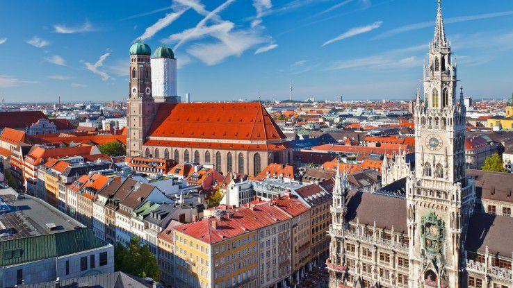 In München können Softwareentwickler nach wie vor die höchsten Gehälter erzielen.