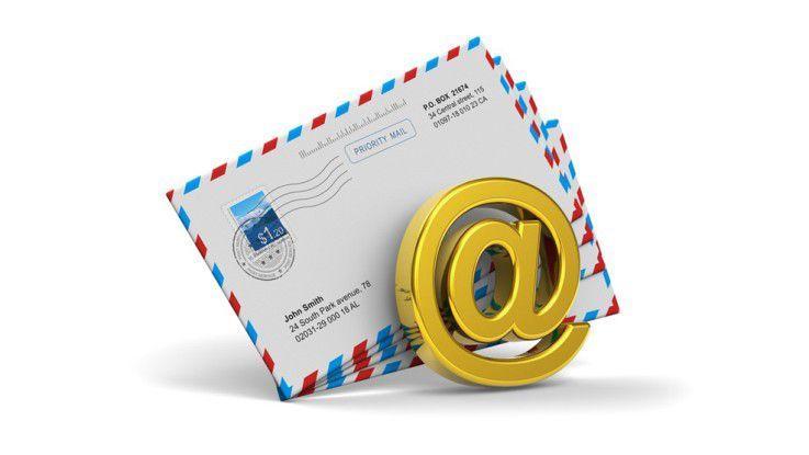 Die E-Mail zeigt sich beharrlich: Die Gesamtzahl der verschickten Nachrichten wächst in den nächsten vier Jahren kontinuierlich,