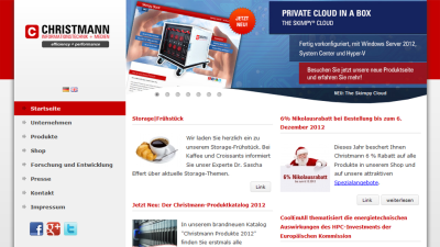 Green IT Best Practice Award 2012: Christmann Informationstechnik + Medien