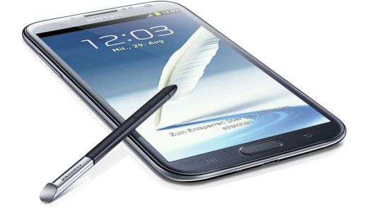 "Das ""Anti-iPhone"" Samsung Galaxy Note 2 mit Riesen-Display."