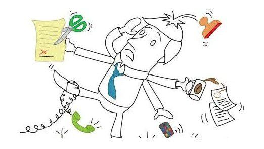 Multitasking ist ein Kampf gegen Windmühlen, warnen Psychologen.