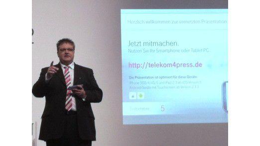 Legt die Cloud-Strategie der Deutschen Telekom fest: Dirk Backofen