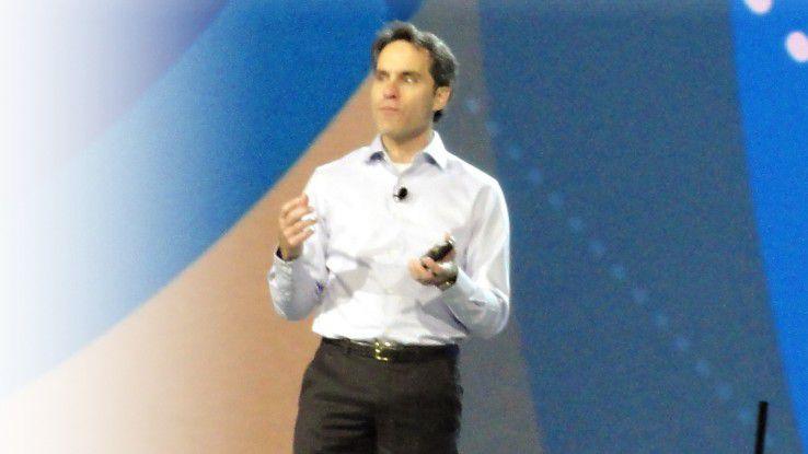 """""""Auch Cloud-only-Funktionen werden für Sharepoint kommen"""", so Jeff Teper."""