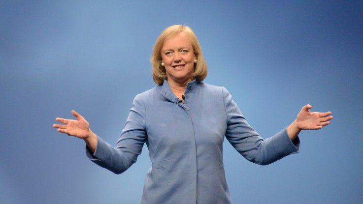 HP-CEO Meg Whitman auf der HP Discover 2012.