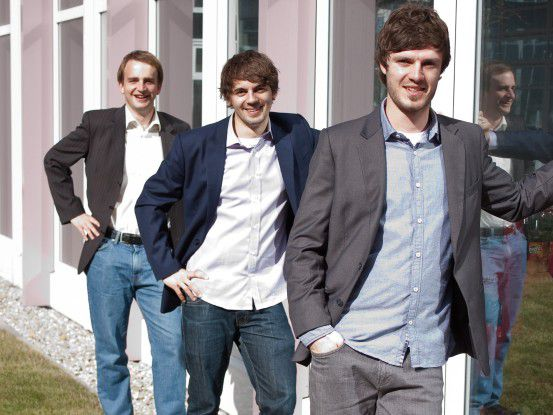 Das Gründerteam der Testbirds (v.l.n.r.)Georg Hansbauer, Philipp Benkler, Markus Steinhauser.