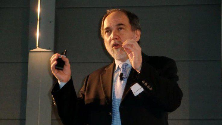 """""""Viele Unternehmen werden ein Big Data-Management-Problem bekommen"""", meint Fujitsu-CTO Joseph Reger."""