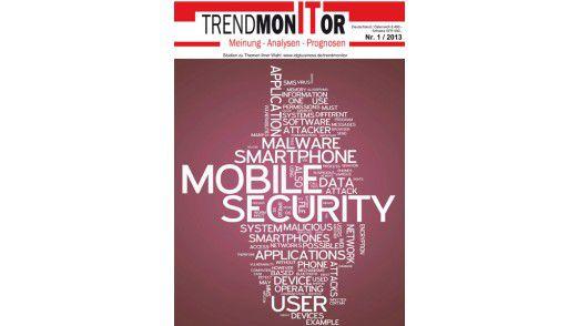 """Der erste Trendmonitor hat das Thema """"Mobile Security""""."""