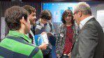 Bewerbung mal anders rum: Ein Mitglied der Concat AG stellt sich den Fragen einiger Erasmus-Studenten.