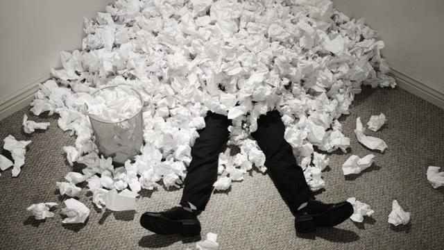 AIIM über das (noch nicht) papierlose Büro - Foto: Lexmark