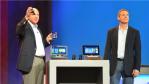 Paul Jacobs zusammen mit Steve Ballmer auf der CES Keynote.