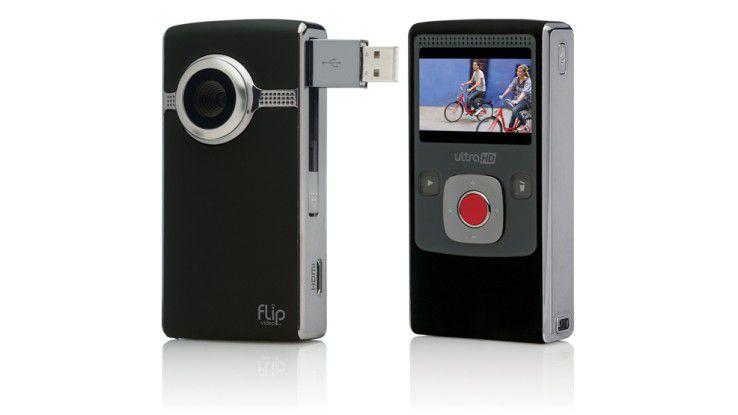 Mit Consumer-Hardware, hier die Flipcam, hatte Cisco in der Vergangenheit keine glückliche Hand.
