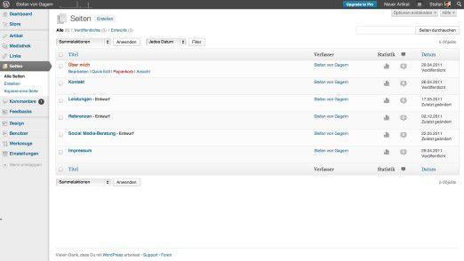 Blogsysteme wie Wordpress eigenen sich nicht nur für Weblogs - auch Firmenauftritte können damit einfach umgesetzt werden.