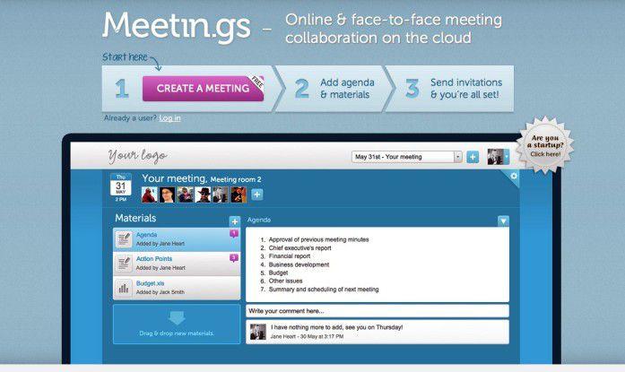 Erfolgreiche Teamarbeit mit Meetin.gs.