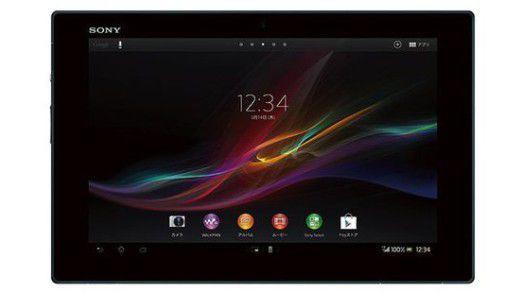 Ultraflach: Das Sony Xperia Tablet Z