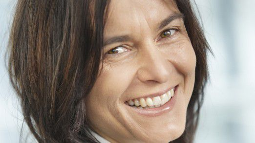 Microsoft-Personalchefin Birgitte Hirl-Höfer freut sich über den ersten Platz.