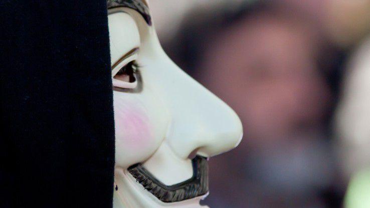 Hacktivisten aus dem Anonymous-Kollektiv setzen DDoS für ihre Zwecke ein.