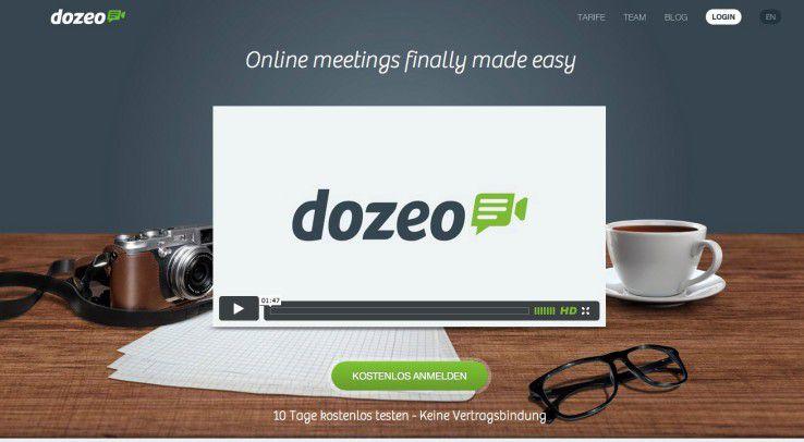 Webconferencing mit dozeo.