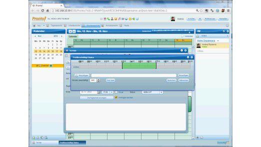 Der CommuniGate Pro Client bündelt alle Anwender-Funktionen in einem Programm.