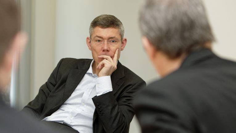 Er kam von der Deutschen Telekom und ist seit September 2012 als Microsofts Deutschland-Chef im Amt: Christian Illek.