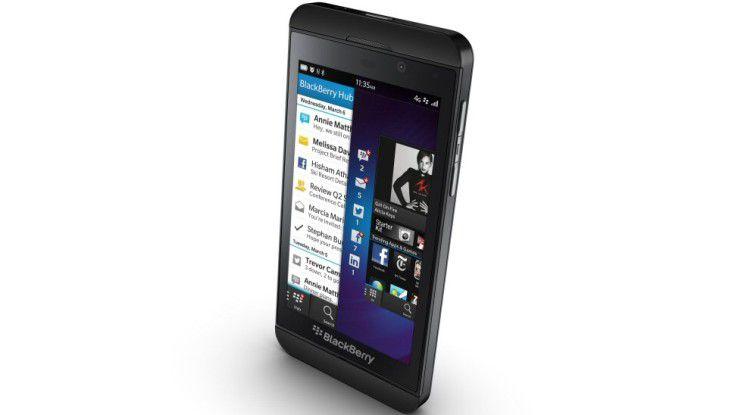 Blackberrys Hoffnungsträger: Das neue Blackberry Z10
