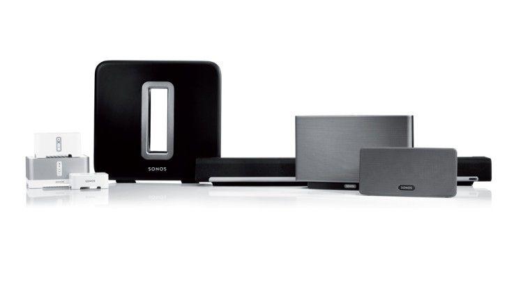 In Kombination mit anderen Geräten von Sonos kann man sich ein 5.1 Soundsystem zusammenstellen.