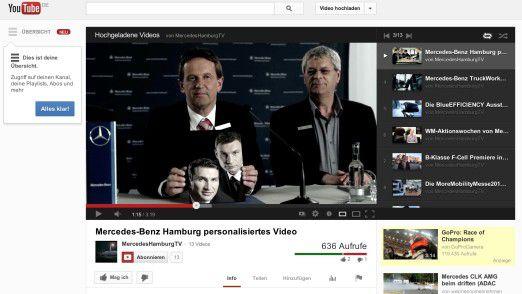"""Die Idee der personalisierten Videos bei Mercedes als Mittel zur Kundenbindung, wird in dem dazu entwickelten Beispiel-Video mit den """"Klitschko-Brüdern"""" deutlich."""