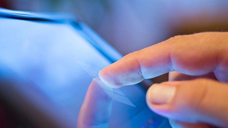 Wisch und weg: Die schöne neue mobile Arbeitswelt hat aber nicht nur Vorteile...