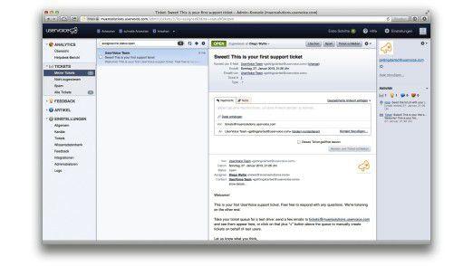 Uservoice gehört zu den wichtigsten Angeboten im Bereich Kunden-Feedback und Helpdesk.