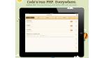 Kleine Helfer: Kodiak PHP - Entwicklungsumgebung fürs iPad - Foto: Diego Wyllie