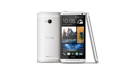 Schön, aber zur Rettung nicht ausreichend: Das HTC One.
