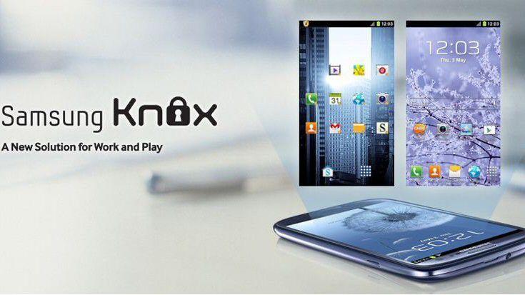 Mit KNOW will Samsung Android ins Enterprise bringen.